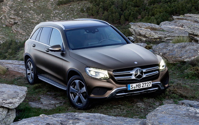 Mercedes-Benz GLC скоро в продаже