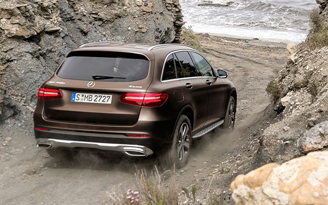 Mercedes-Benz GLC, вид сзади