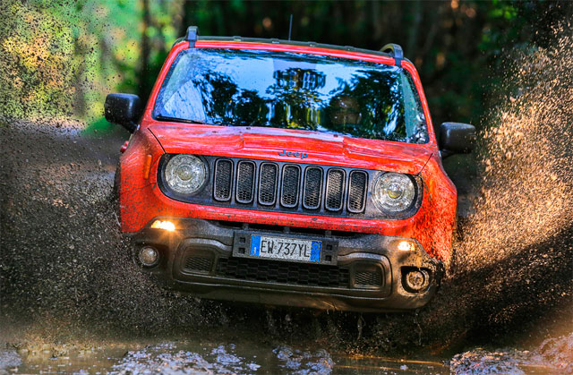 Jeep Renegade Limited, стихия