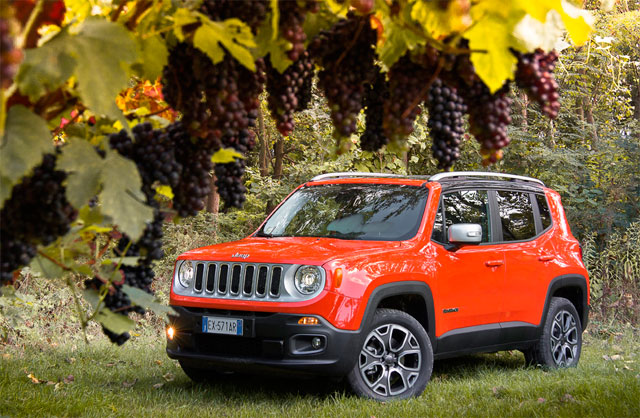 Jeep Renegade Limited, красавец