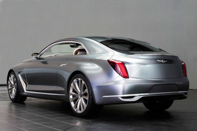 Hyundai HCD-16 Vision G Coupe Concept, вид сзади